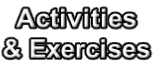 Activities  & Exercises